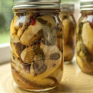 Pickled porcini mushrooms