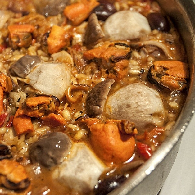 Paella With Wild Mushrooms Recipes — Dishmaps